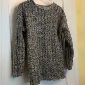 Vintage black and grey sweater